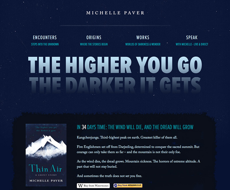 Michelle Paver Website