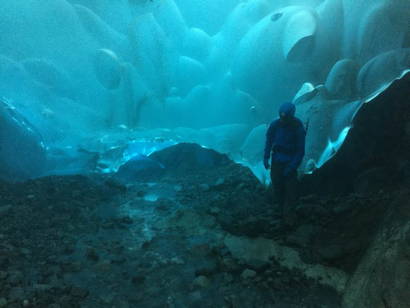 In The Heart Of An Ice Cave